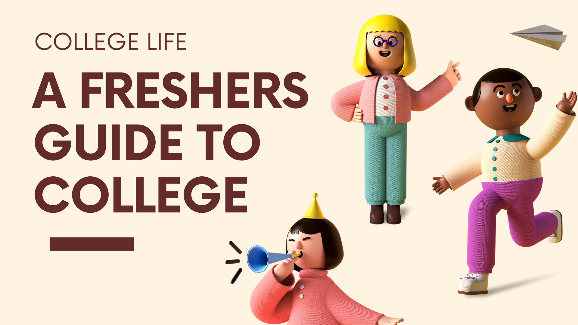 freshers guide to college